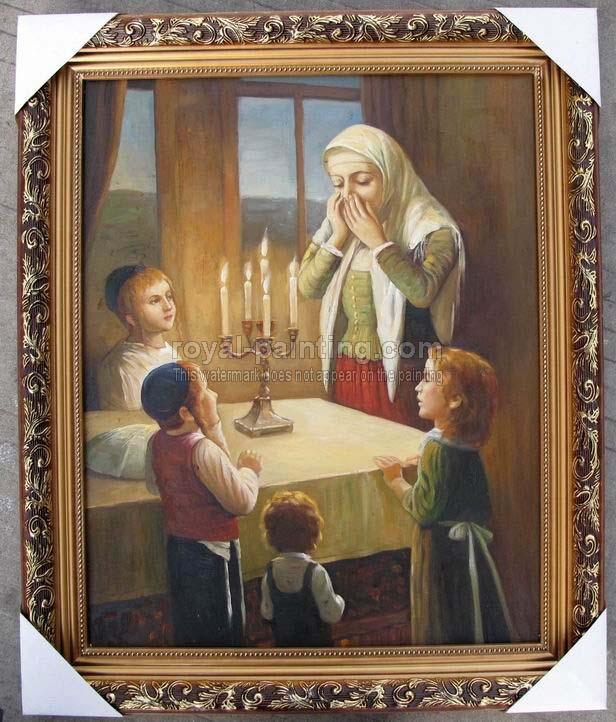 Jewish art paintings