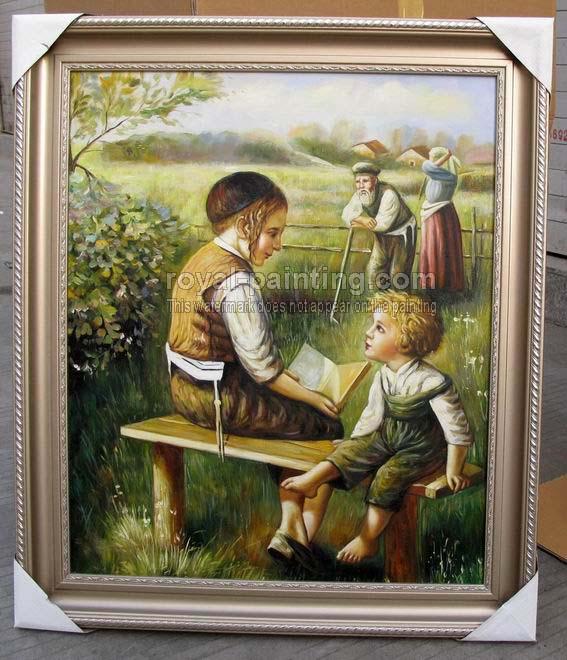 Jewish art paintings for Israeli artists oil paintings