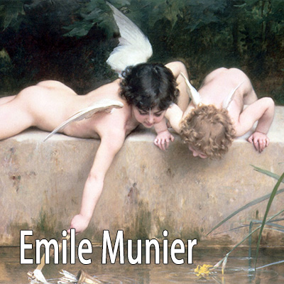 Emile Munier oil painting reproductions