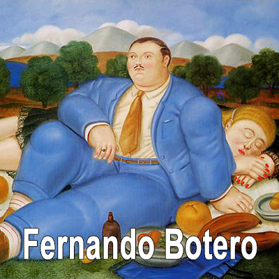 Fernando Botero oil painting reproductions