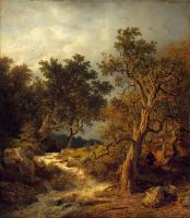 Achenbach, Andreas - Landscape with a Stream