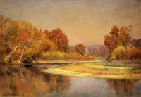 Adams, John Ottis - Sycamores on the Whitewater