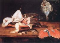 Adriaenssen, Alexander - Still-Life with Fish