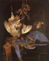 Aelst, Willem van - Still Life with Hunting Equipment