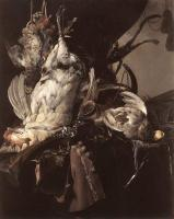 Aelst, Willem van - Still-Life of Dead Birds and Hunting Weapons