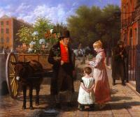 Agasse, Jacques-Laurent - The Flower Seller