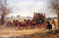 Alken, Henry - A Coach and Four on an Autumn Road