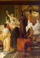 Alma-Tadema, Sir Lawrence - A Sculpture Gallery