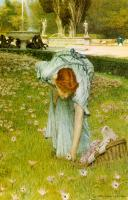Alma-Tadema, Sir Lawrence - Flora: Spring in the Gardens of the Villa Borghese