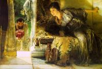 Alma-Tadema, Sir Lawrence - Welcome Footsteps