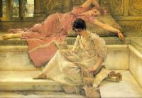 Alma-Tadema, Sir Lawrence - The Favorite Poet