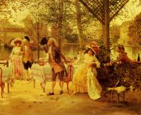 Alonso Perez - A Cafe By The River