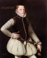 Alonso Sanchez Coello - Rudolf II, Holy Roman Emperor as a young Archduke