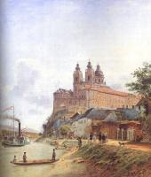 Alt, Jakob - The Monastery of Melk on the Danube