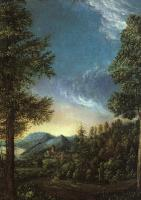 Altdorfer, Albrecht - View of the Danube Valley near Regensburg