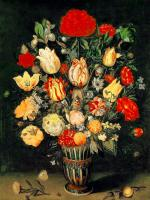 Ambrosius Bosschaert - Still-Life of Flowers