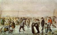 Avercamp, Hendrick - A Scene On The Ice