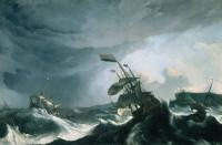 Backhuysen, Ludolf - Ships in Distress in a Heavy Storm