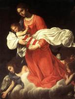 Baglione, Giovanni - The Virgin and the Child with Angels