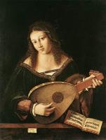 Bartolomeo Veneto - Woman Playing a Lute