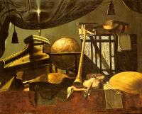 Baschenis, Evaristo - Still-Life with Musical Instruments