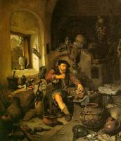Bega, Cornelis - Graphic The Alchemist