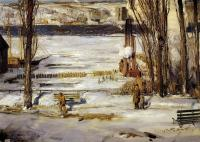 Bellows, George - A Morning Snow, Hudson River