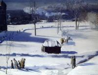 Bellows, George - Blue Snow, the Battery