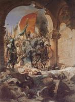 Benjamin Jean Joseph Constant - The Entry of Mahomet II into Constantinople