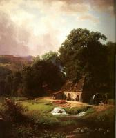 Bierstadt, Albert - The Old Mill