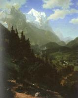 Bierstadt, Albert - The  Wetterhorn