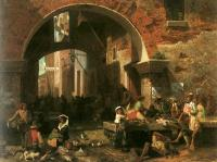 Bierstadt, Albert - The Arch of Octavius (The Roman Fish Market)