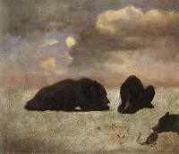 Bierstadt, Albert - Grizzly Bears