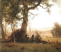 Bierstadt, Albert - Guerrilla Warfare (Picket Duty in Virginia)