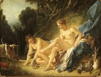 Boucher, Francois - Diana Leaving her Bath