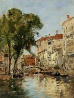 Boudin, Eugene - A Small Canal in Venice