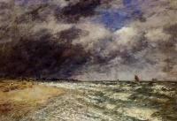 Boudin, Eugene - A Squall from Northwest