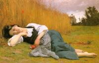 Bouguereau, William-Adolphe - Rest at Harvest