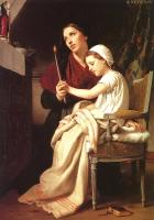 Bouguereau, William-Adolphe - The Thanks Offering