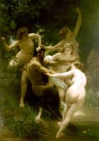 Bouguereau, William-Adolphe - Nymphs and Satyr