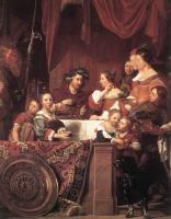 Bray, Jan de - The de Bray Family, The Banquet of Antony and Cleopatra