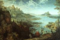 Bruegel, Pieter the Elder - Landscape with the Flight into Egypt