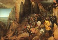 Bruegel, Pieter the Elder - The Conversion of Saul