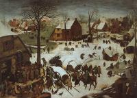 Bruegel, Pieter the Elder - The Census at Bethlehem