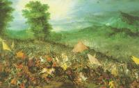 Brueghel, Jan the Elder - The Battle of Issus