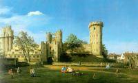 Canaletto - Warwick Castle- The East Front
