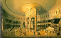 Canaletto - London- Ranelagh, the Interior of the Rotunda