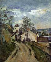 Cezanne, Paul - The House of Dr. Gachet in Auvers