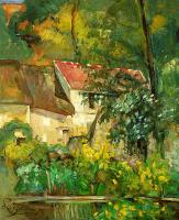 Cezanne, Paul - The House of Pere Lacroix in Auvers