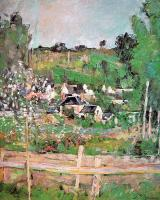 Cezanne, Paul - View of Auvers-sur-Oise (The Fence)